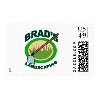 Brad's Landscaping Extract Movie Stamps