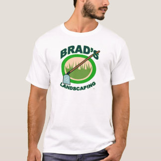 Brad's Landscaping Extract Movie T-Shirt