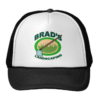 Brad's Landscaping Extract Movie Trucker Hat