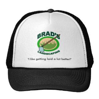 Brad's Landscaping Hats