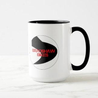 BRADSHAW BIKES NO BS MUG! 15 OZ OF HOT COFFEE! MUG