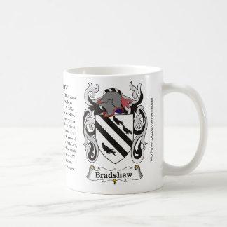 Bradshaw, el origen, significado y el escudo taza