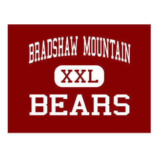 Bradshaw Mountain - Bears - High - Prescott Valley Postcard