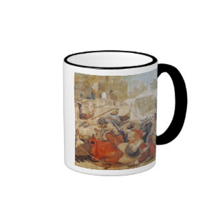 Bradshaw's defence of Manchester (1642) Ringer Coffee Mug