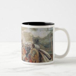 Bradshaw's defence of Manchester (1642) Two-Tone Coffee Mug