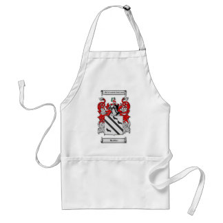 Bradsher Coat of Arms Adult Apron