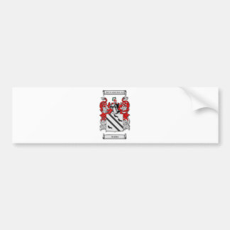 Bradsher Coat of Arms Bumper Sticker
