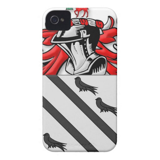 Bradsher Coat of Arms iPhone 4 Case