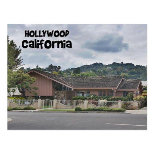 Brady Bunch House Hollywood California Postcard Zazzle