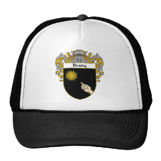 Brady Coat of Arms (Mantled) Trucker Hat