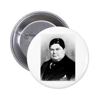 Brady - Diamond Jim / Playboy Financier Pinback Buttons