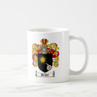 BRADY FAMILY CREST -  BRADY COAT OF ARMS COFFEE MUG