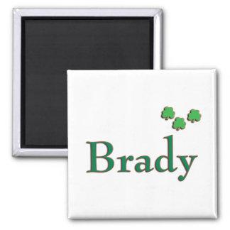 Brady Irish Fridge Magnet