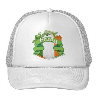 Brady Irish Shield Hats
