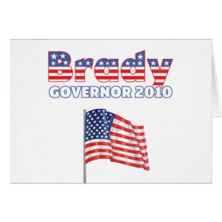 Brady Patriotic American Flag 2010 Elections Card