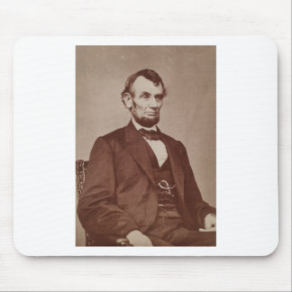 [Brady photograph of Abraham Lincoln Mouse Pad