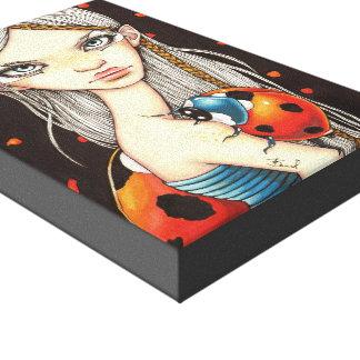 Bradybug Stretched Canvas Print