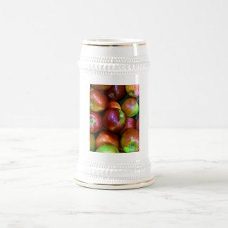 Braeburn Apples Beer Stein