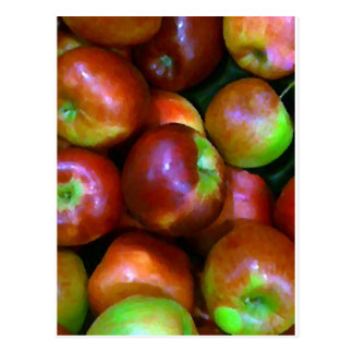 Braeburn Apples Postcard
