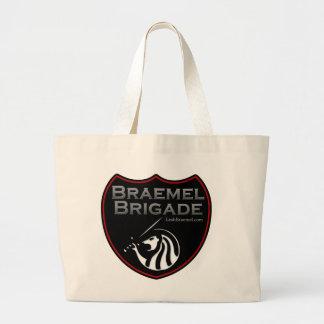 Braemel Brigade Logo Large Tote Bag