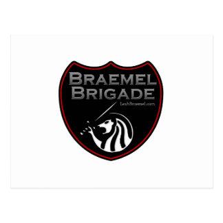 Braemel Brigade Logo Postcard