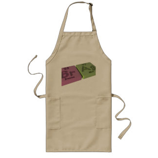 Brag as Bra Bromine and Ag Silver Long Apron