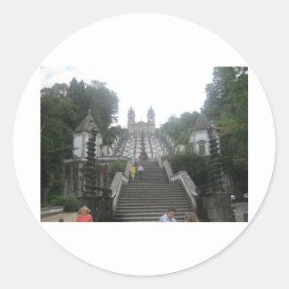 Braga's Castle Classic Round Sticker
