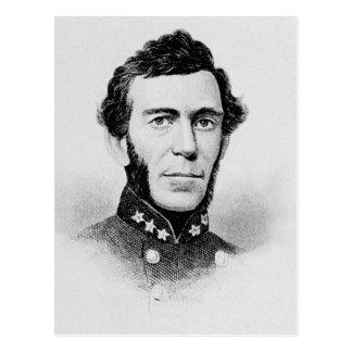 Bragg - guerra civil general confederada de tarjetas postales
