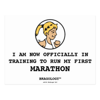 """Bragology™/""""en postal del maratón del"""
