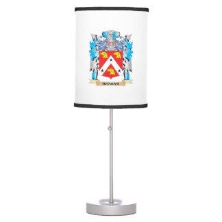 Braham Coat of Arms Lamp