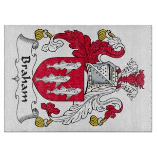 Braham Family Crest Cutting Board