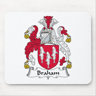 Braham Family Crest Mouse Pad