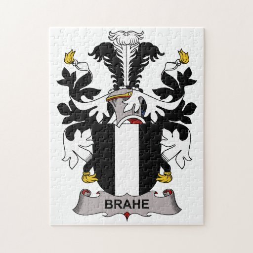 Brahe Family Crest Jigsaw Puzzles