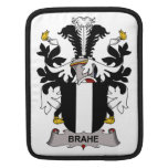 Brahe Family Crest Sleeves For iPads