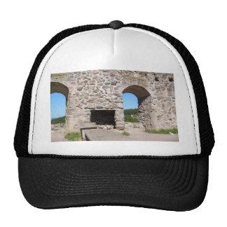 Brahehus Castle Ruins Sweden Hats