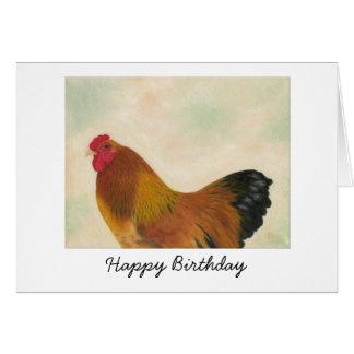 Brahma Chicken Birthday Card