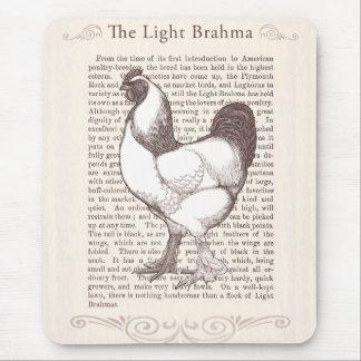 Brahma Chicken Breeder Enthusiast Vintage Farmer Mouse Pad