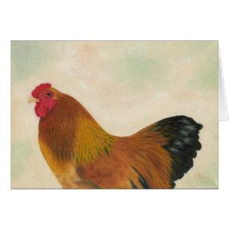 Brahma chicken card