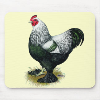 Brahma:  Dark Rooster Mouse Pad