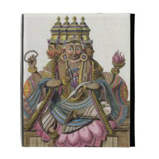 Brahma, dios hindú de la creación, del 'viaje aux.