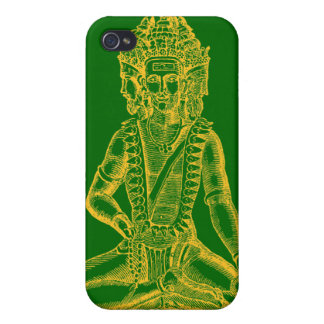 Brahma (gold) iPhone 4 cases
