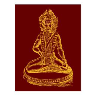 Brahma (gold) postcard