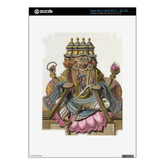 Brahma, Hindu god of creation, from 'Voyage aux In Decals For iPad 3