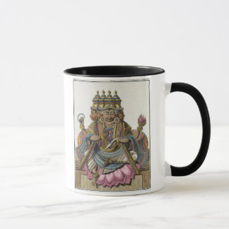 Brahma, Hindu god of creation, from 'Voyage aux In Mug