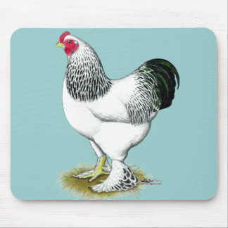 Brahma:  Light Rooster Mouse Pad