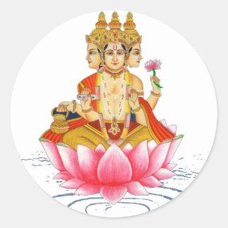 BRAHMA - PRAJAPATI - HINDU GODDESS STICKER