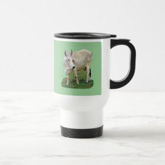 Brahman Cattle 15 Oz Stainless Steel Travel Mug
