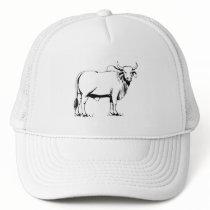 Brahman Cow Trucker Hat