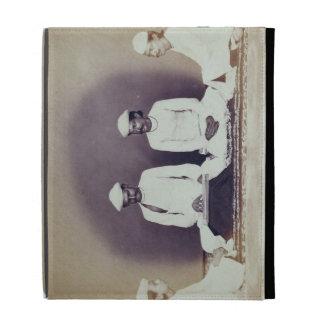 Brahmanes hindúes en Delhi, siglo XIX (foto de la