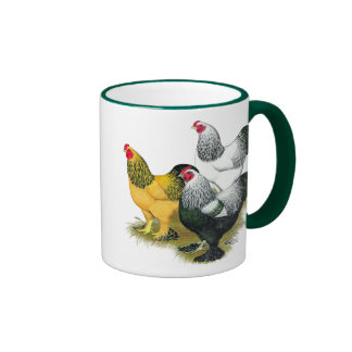 Brahmas Three Roosters Mug